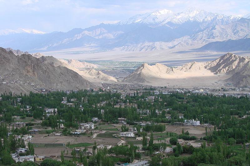 View of Leh